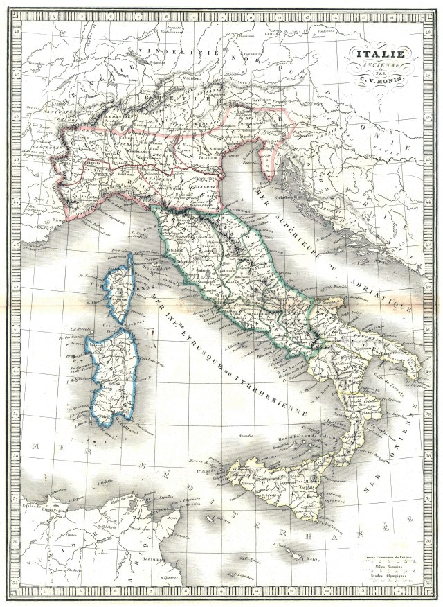 Ancient Rh Negative Tribes: The Etruscans Italy