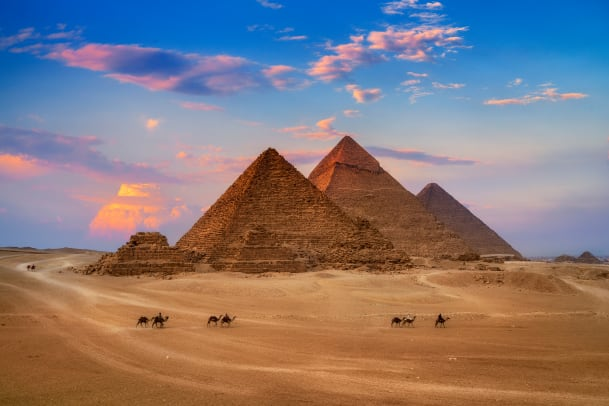 The History of the World through the Eyes of Blood Egypt-gettyimages-1085205362