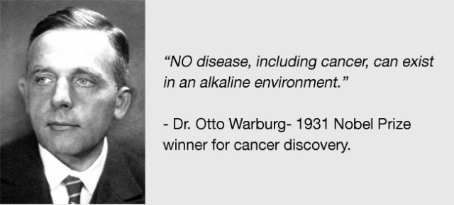 Why are Rh- people at high risk for some cancers? Otto-warburg-quote
