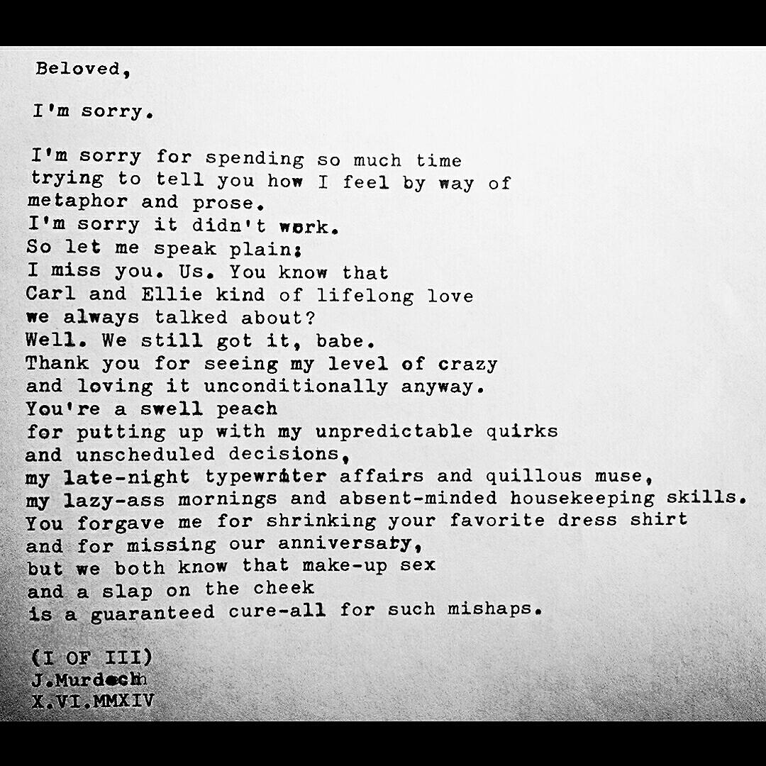 Love Letter 3 Part I