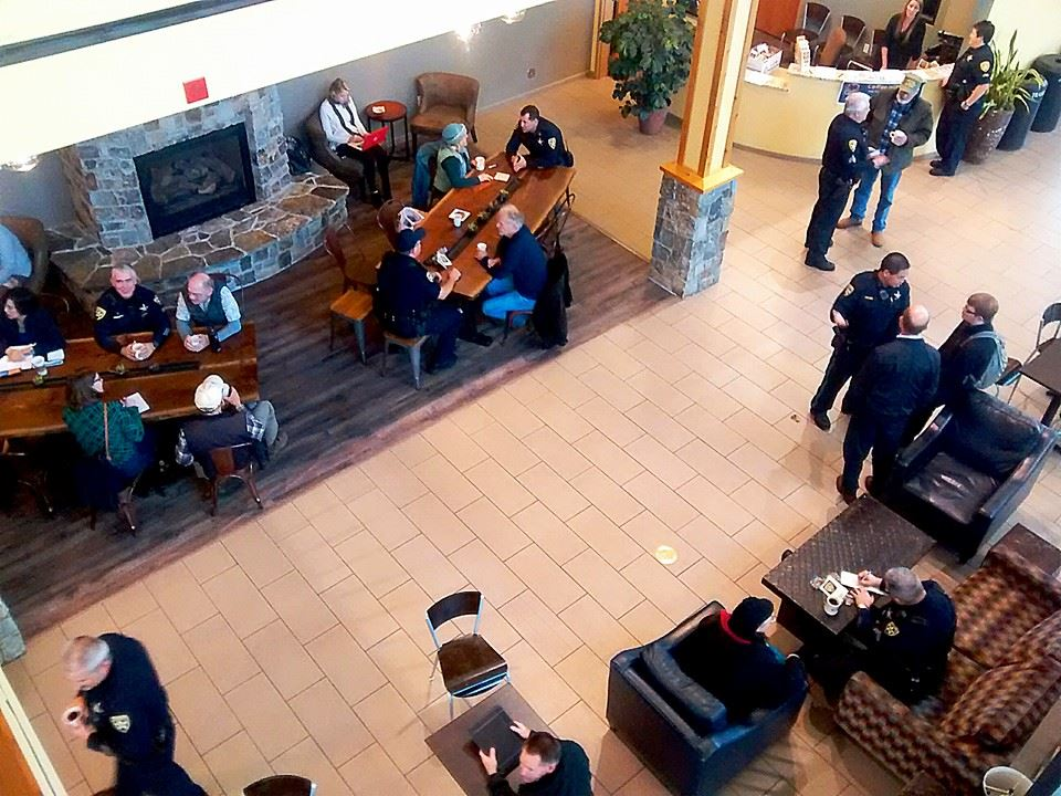 PUP Coffee with a Cop (3)