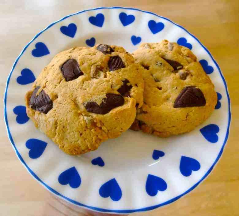 Vegan Chocolate Chip Orange Cookies