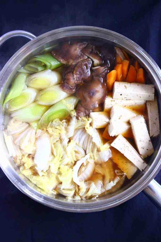 Vegan Sukiyaki (GF)