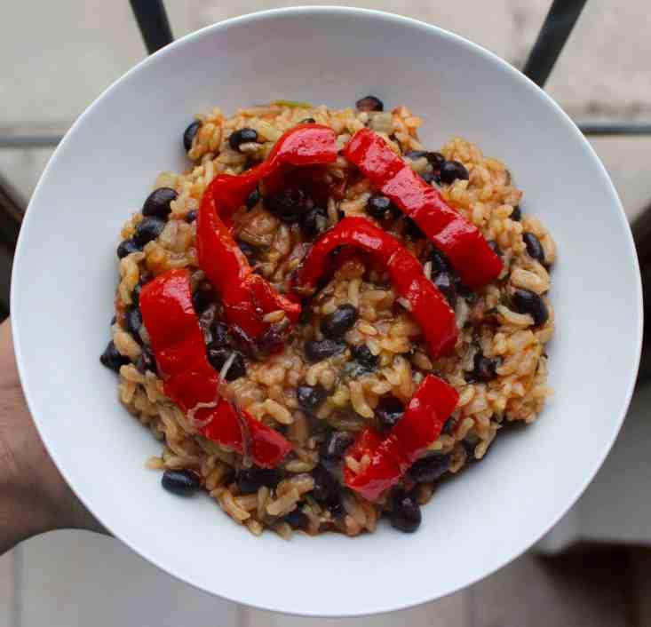 Portuguese Tomato Rice [VEGAN/GLUTEN-FREE]