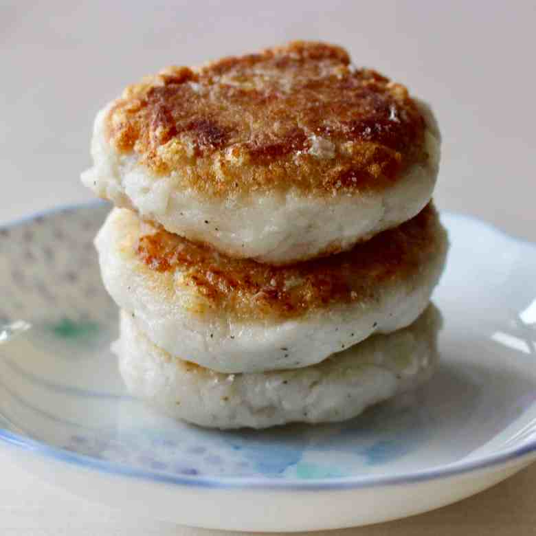Crispy Taro Fritters (Vegan + GF)