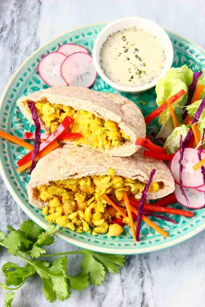 Lazy Falafel (Vegan + GF)