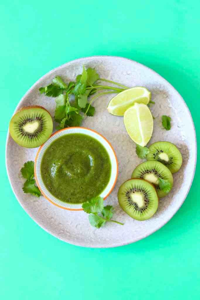 Lazy Samosa Lettuce Cups With Kiwi Chutney (Vegan + GF)