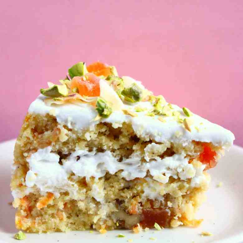 Gluten-Free Vegan Tropical Carrot Cake