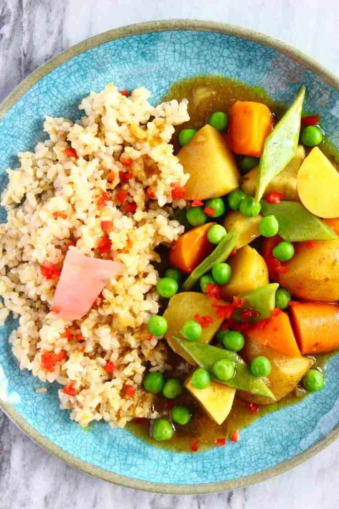 Gluten-Free Vegan Japanese Curry