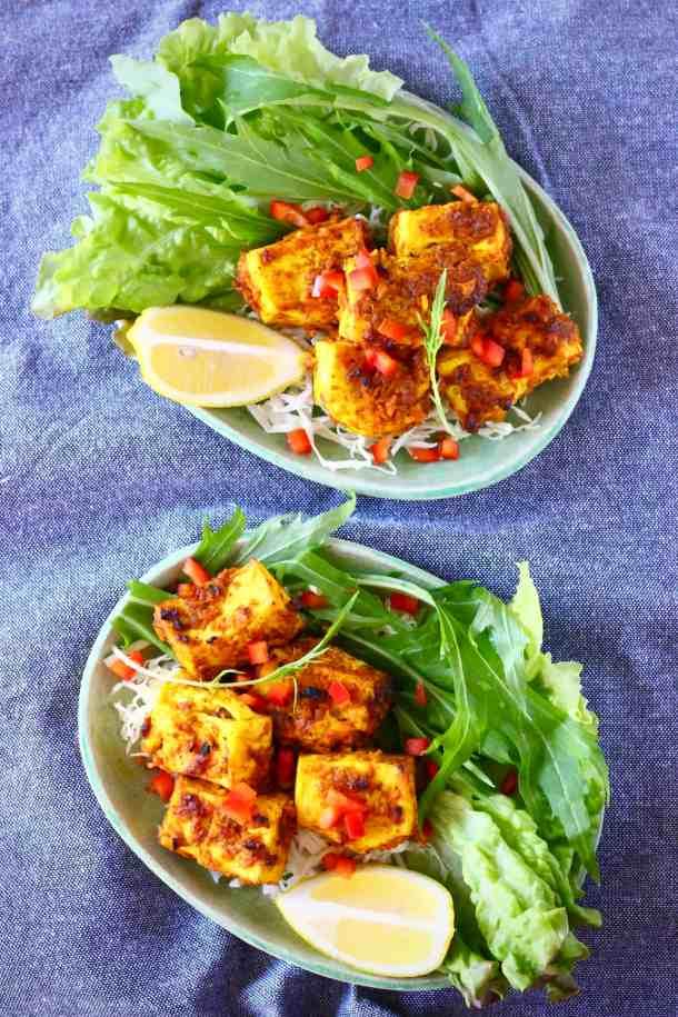 Vegan Tandoori Tofu (GF)