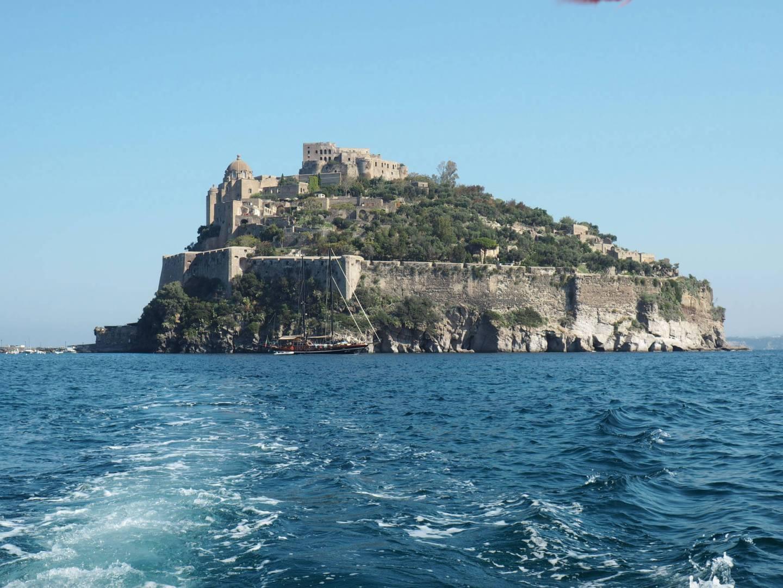 Ischia Boat Views Castle