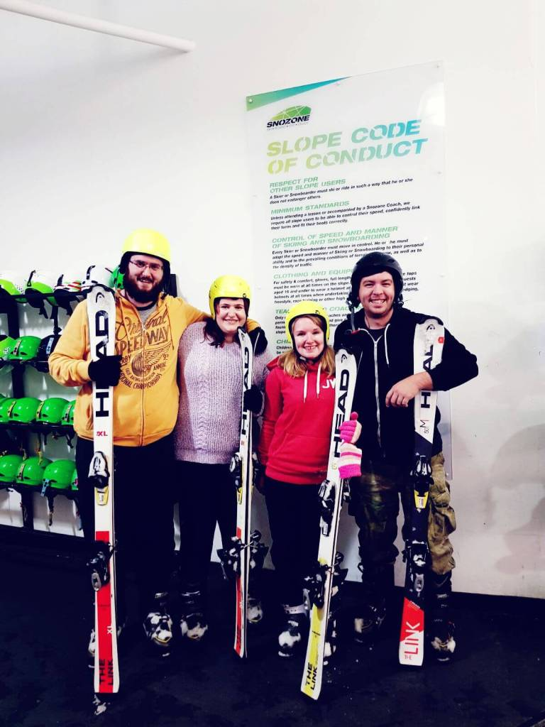 Learning To Ski At Snozone Milton Keynes