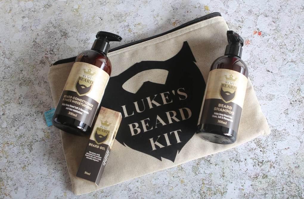 Xmas Luke Beard Kit