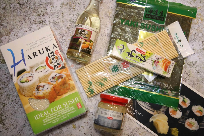 Valentines Sushi Set