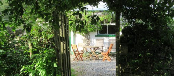 cottage archway