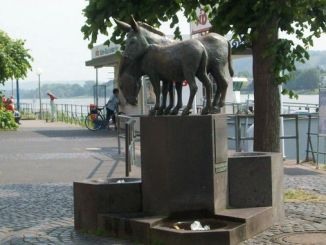 At the Rhine, Königswinter