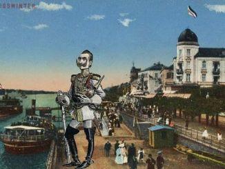 Wilhelm II, Rhine alley Königswinter
