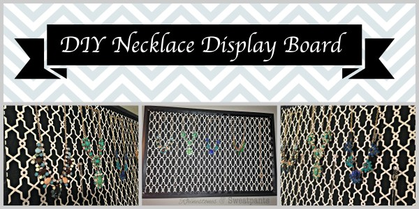 DIY Necklace Display Board