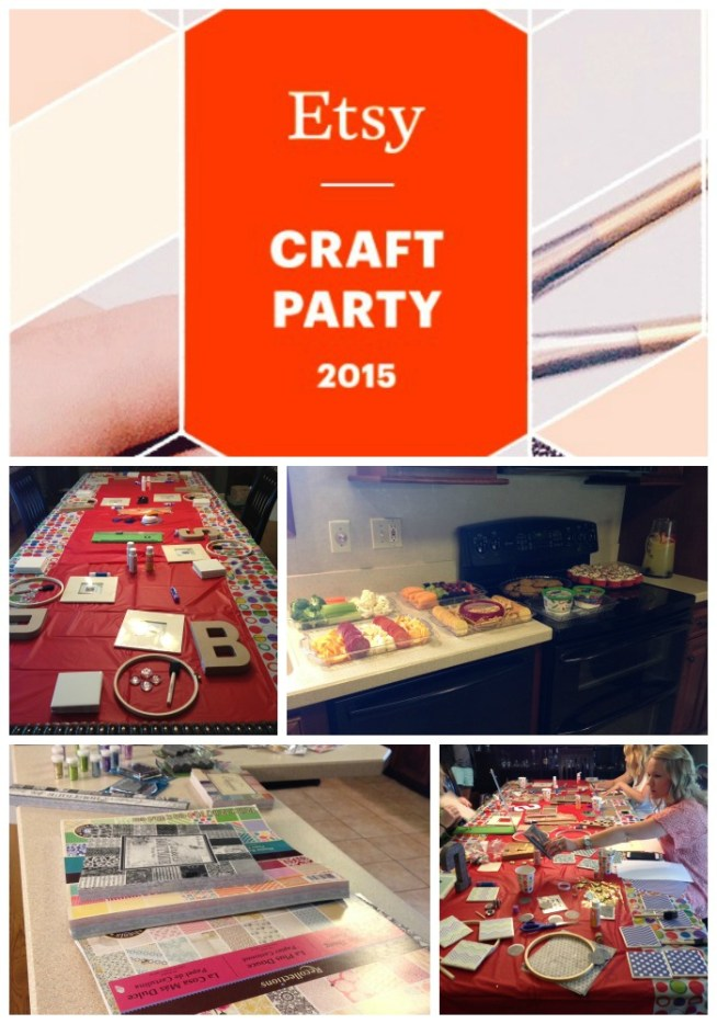 Etsy Craft Party Recap