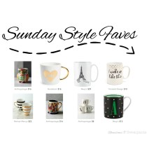 Sunday Style Faves for 11/15/15 | Easy Christmas Gift Ideas - Mugs