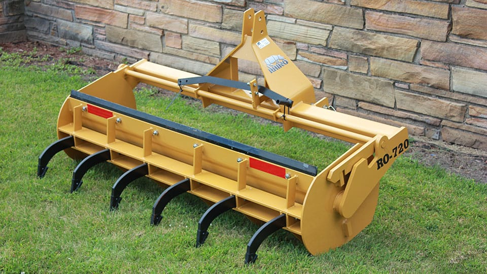 2 Blade Box Cat : Landscape construction rhino ag