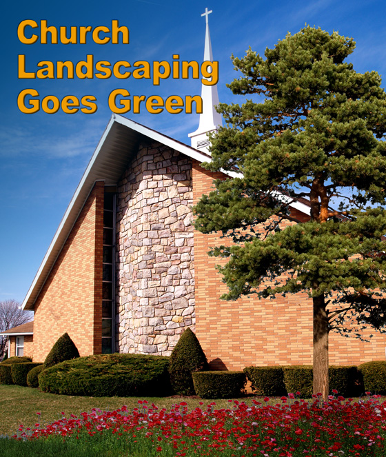 landscaping tips green churches