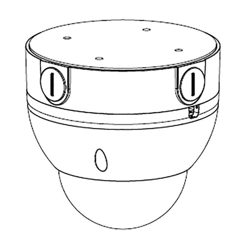 VSBKTA138: Adapter/Junction Box for Surveillance Cameras