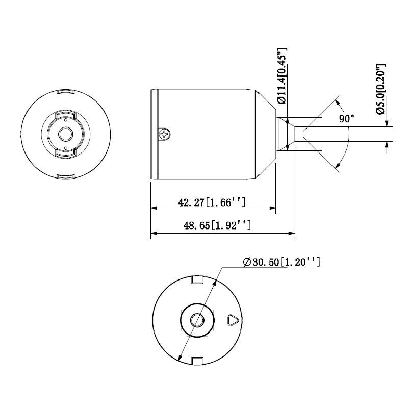VSIP4MPPHC: Mobile Series 4.0MP Fixed Pinhole Camera Lens