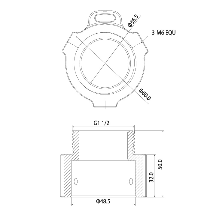 VSBKTA114: Ceiling/Wall Mount Adapter for PTZ Cameras