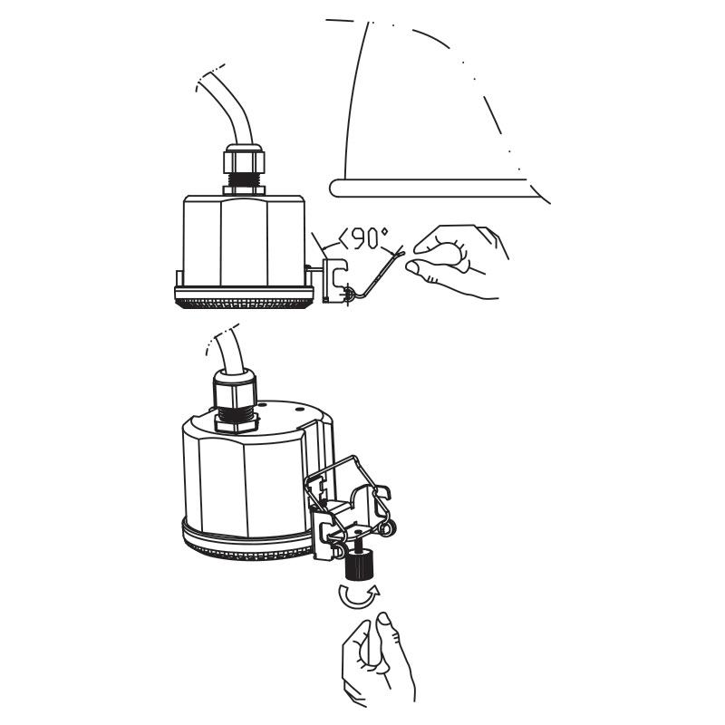 ENSA-MS5: High Bay Microwave Sensor Intelligent Motion