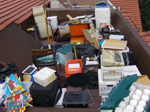 electronics junk recycle e-waste new jersey nj dumpster