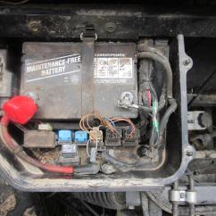 2007 Yamaha Rhino 660 Wiring Diagram Heating Diagrams What Is This Burnt Connector At Battery??? - Forum Forums.net