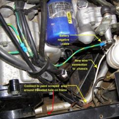Yamaha Warrior Wiring Diagram Sympathetic And Parasympathetic Ground Wire Coming Off Battery - Rhino Forum Forums.net