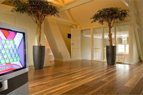 Adlerparkett, amerikanischer Nußbaum rustikal