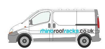 Vauxhall Vivaro Roof Racks and Roof Bars