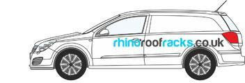 Vauxhall Rhino Roof racks and Bars