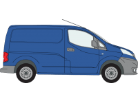 rhino modular roof rack nissan nv200 twin doors