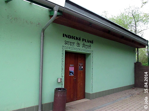 Eingang Nashorn-Haus