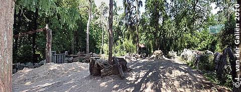 Außenanlage Bereich von Saar, 29. Juni 2010
