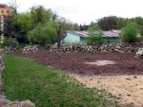 Außenanlage, Bereich Manjula und Maruška, 15. April 2014