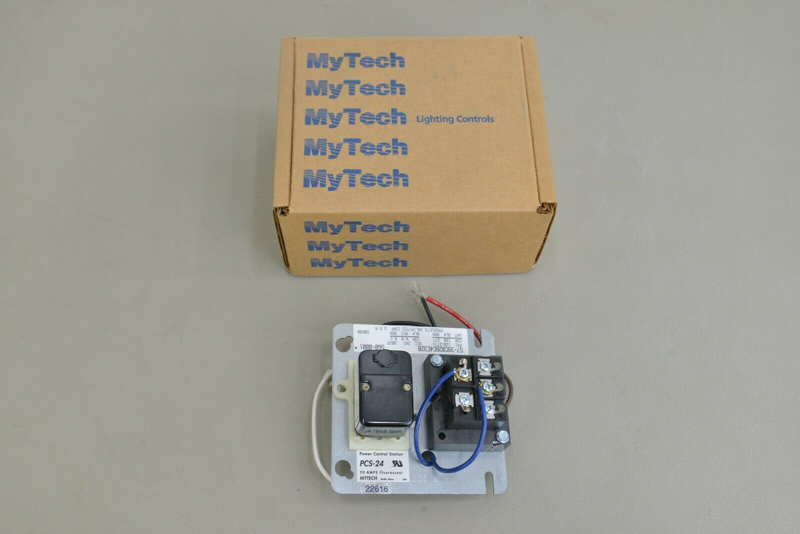 new hubbell mytech pcs 24 fluorescent lighting control station 22610 16