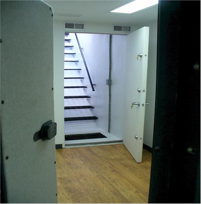 Below Ground Gun VaultBunkerFallout ShelterGun Vault