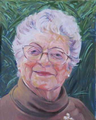 Oil Portrait of Ida