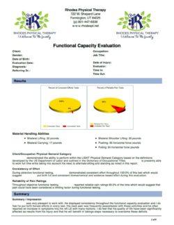 FCE Blank results