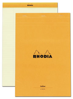 Rhodia ruled notepad no. 19