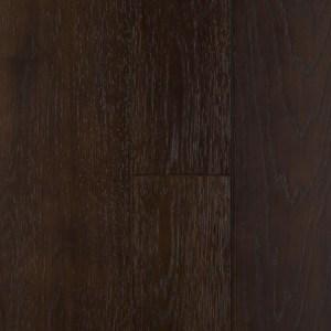 black hardwood floor example