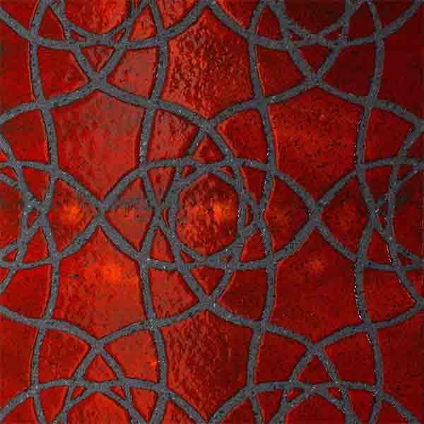 decoro giselle rosso lava tile