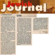 Jewish Journal Article