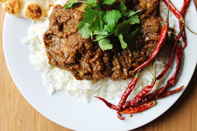 Chicken vindaloo recipe from In Her Kitchen cookbook!