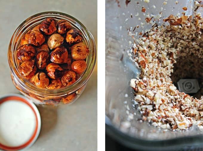 how to make hazelnut milk